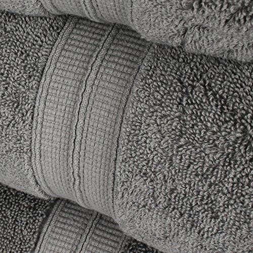 Luxury Premium Cotton 6-Piece 20/2, Ply Ring-Spun Yarn makes the luxe-factor,