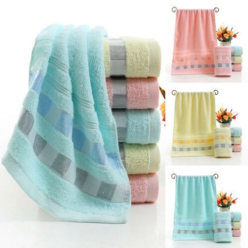 luxury cotton soft towels face hand bath