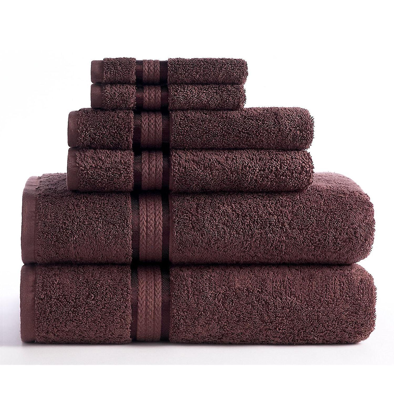 Luxury Cotton Set Washcloth Cloth of 6