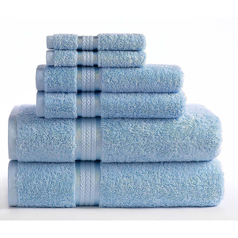 Luxury Towel Washcloth Cloth of 6