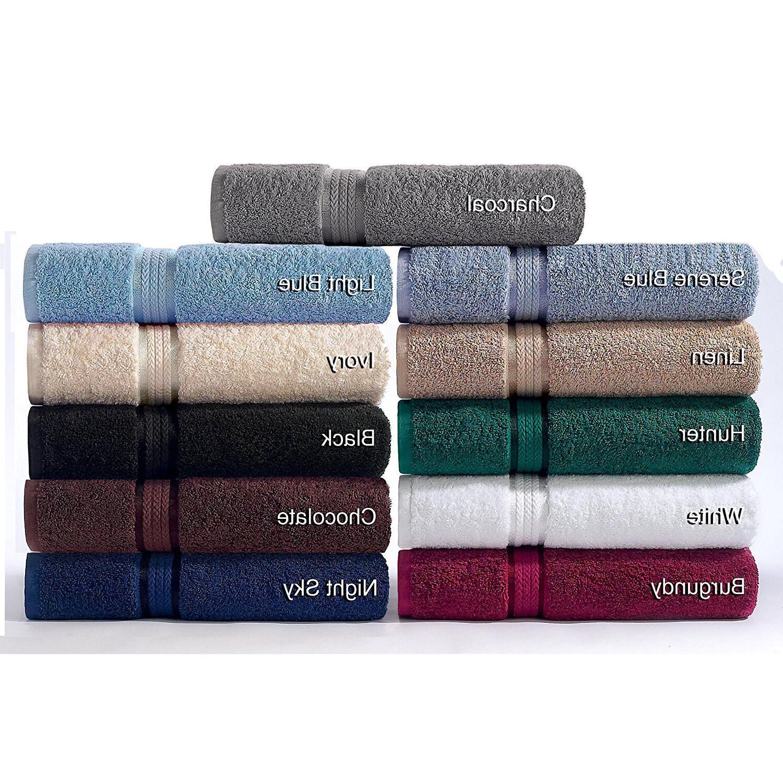 Luxury Cotton Washcloth Wash Cloth Pack of