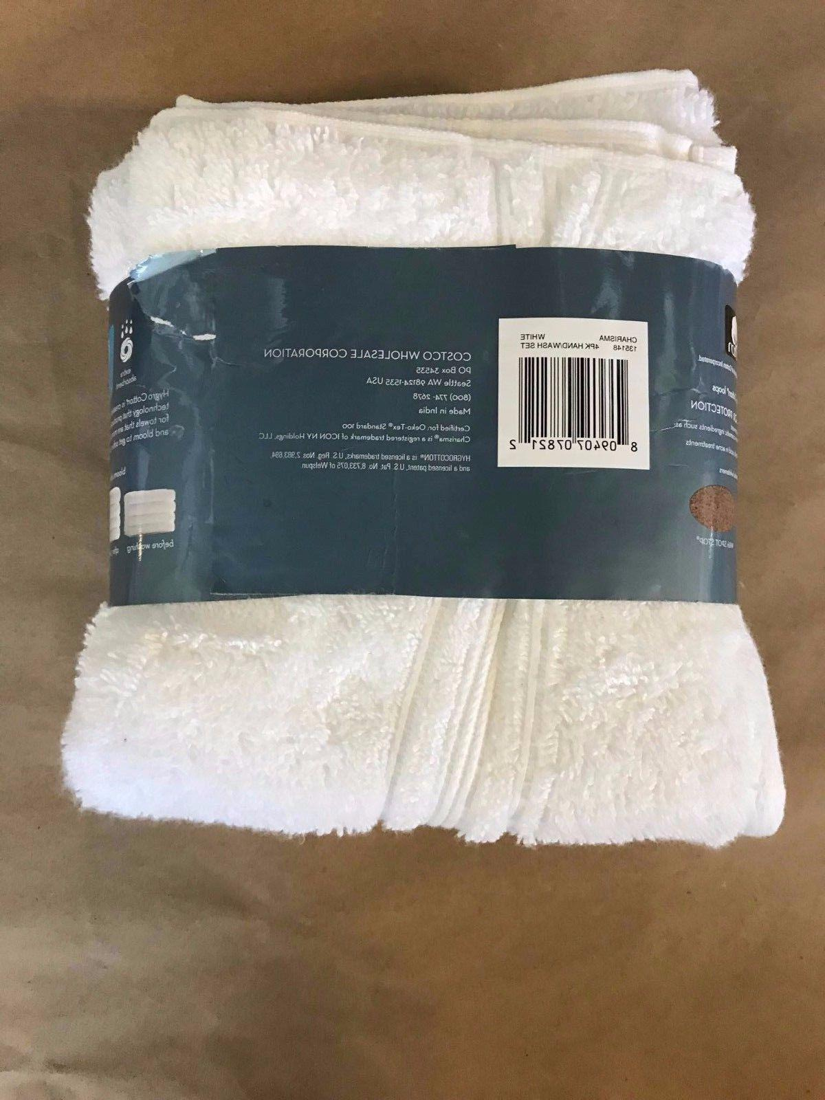 Charisma Luxury Hand & Wash Cloths PACK COLOR