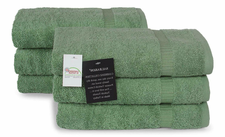 SALBAKOS Spa Collection Towels 100% Turkish 700gsm plush