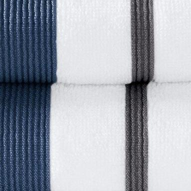 Great Luxury Hotel/Spa 100% Cotton Striped 500 Hand By