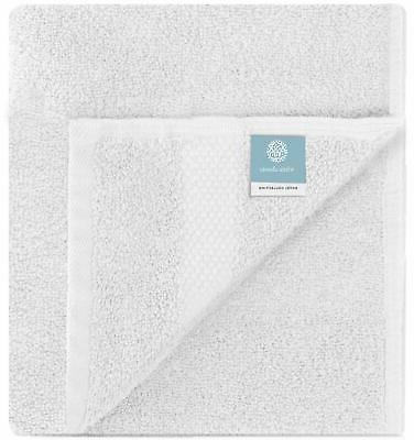 Luxury White Towels - Soft Cotton Hotel towel 6-Pack