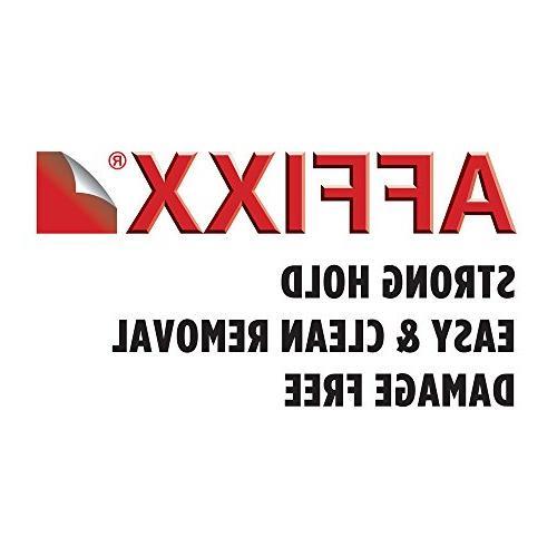 "mDesign AFFIXX, Adhesive Towel Kitchen Bathroom 11"", Brushed"