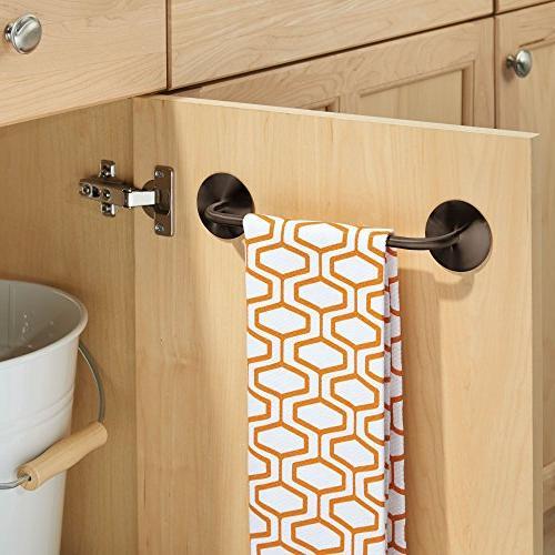 mDesign Bar Holder Towels, - Pack of 2,