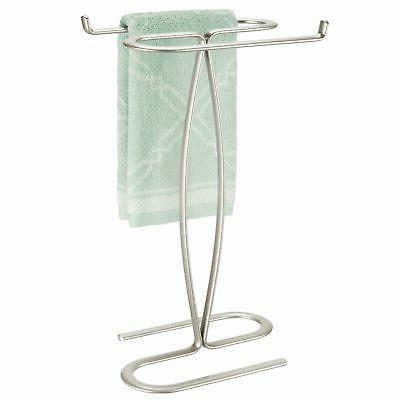 Mdesign Metal Hand Towel Holder Stand