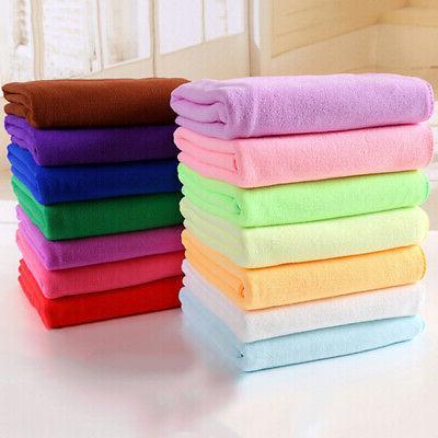 Fiber Bath Towels Bath Towel Microfiber Quick Drying Beach A