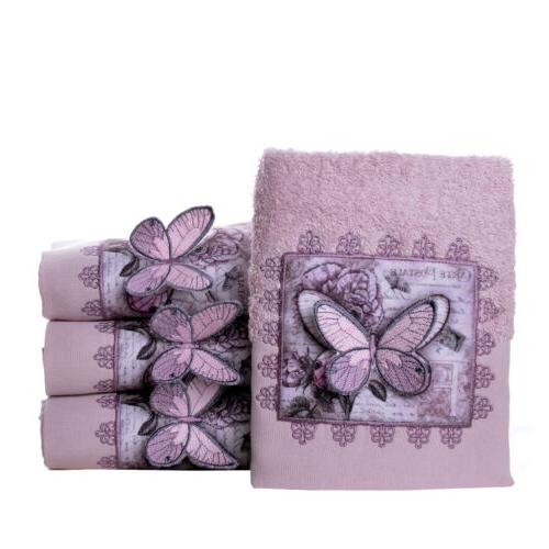MINTEKS Face Cotton, 4 Hand Towels