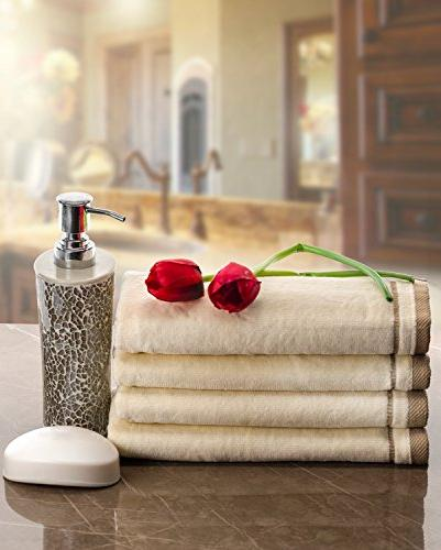 Monogrammed Gifts, 11 x - Decorative Towel 100% for Bathroom/Kitchen-