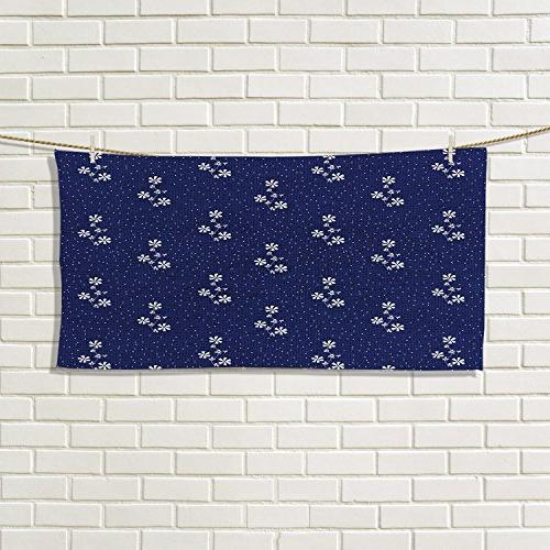 navy blue fancy hand towels