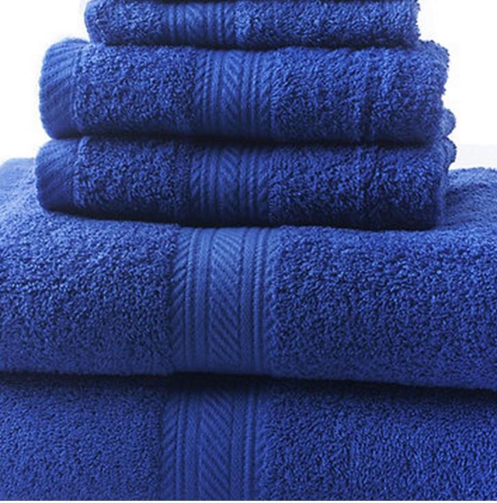 New Bath Set Hand Towels Washcloths 100% Absorbent