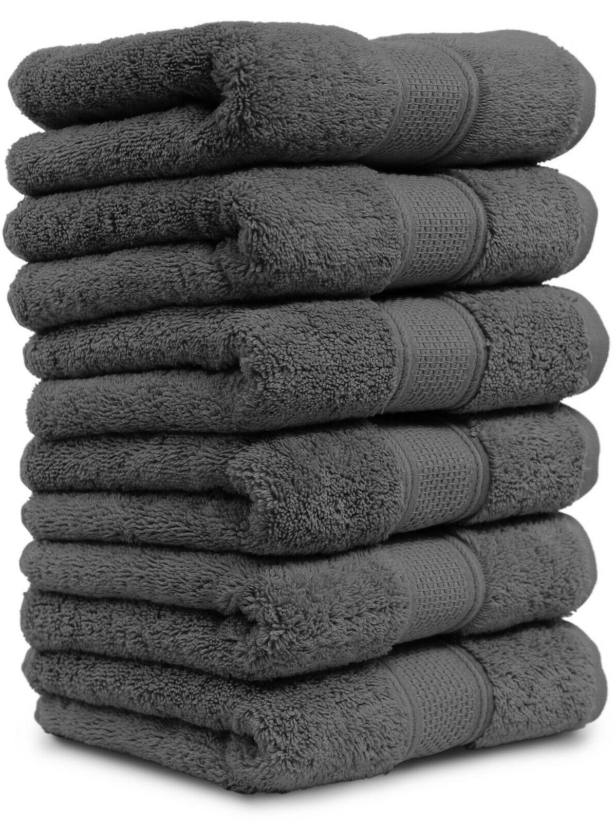 new cotton hand towels set large 16x30