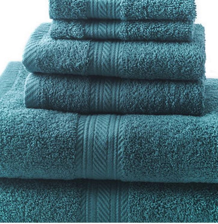 New Bath Hand Towels 100% Cotton Absorbent