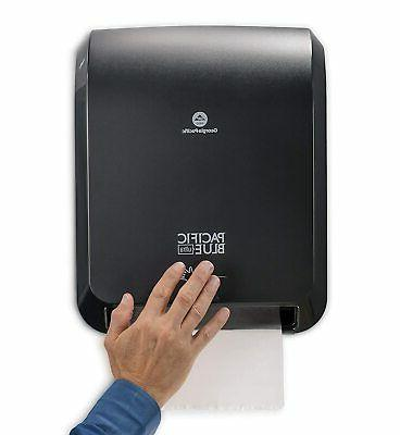 new ultra automated paper towel dispenser hands