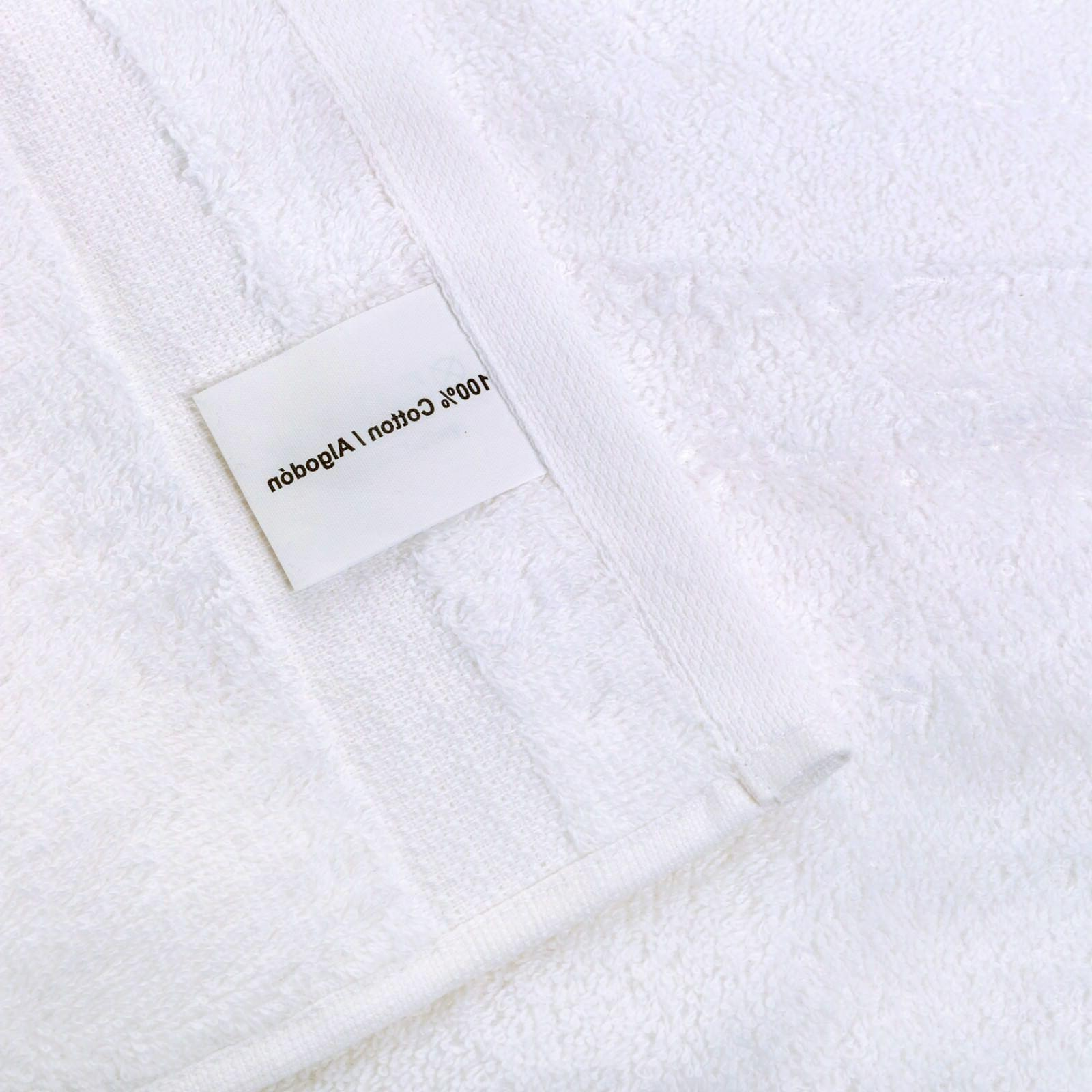 NEW WHITE Color TURKISH COTTON HAND TOWELS