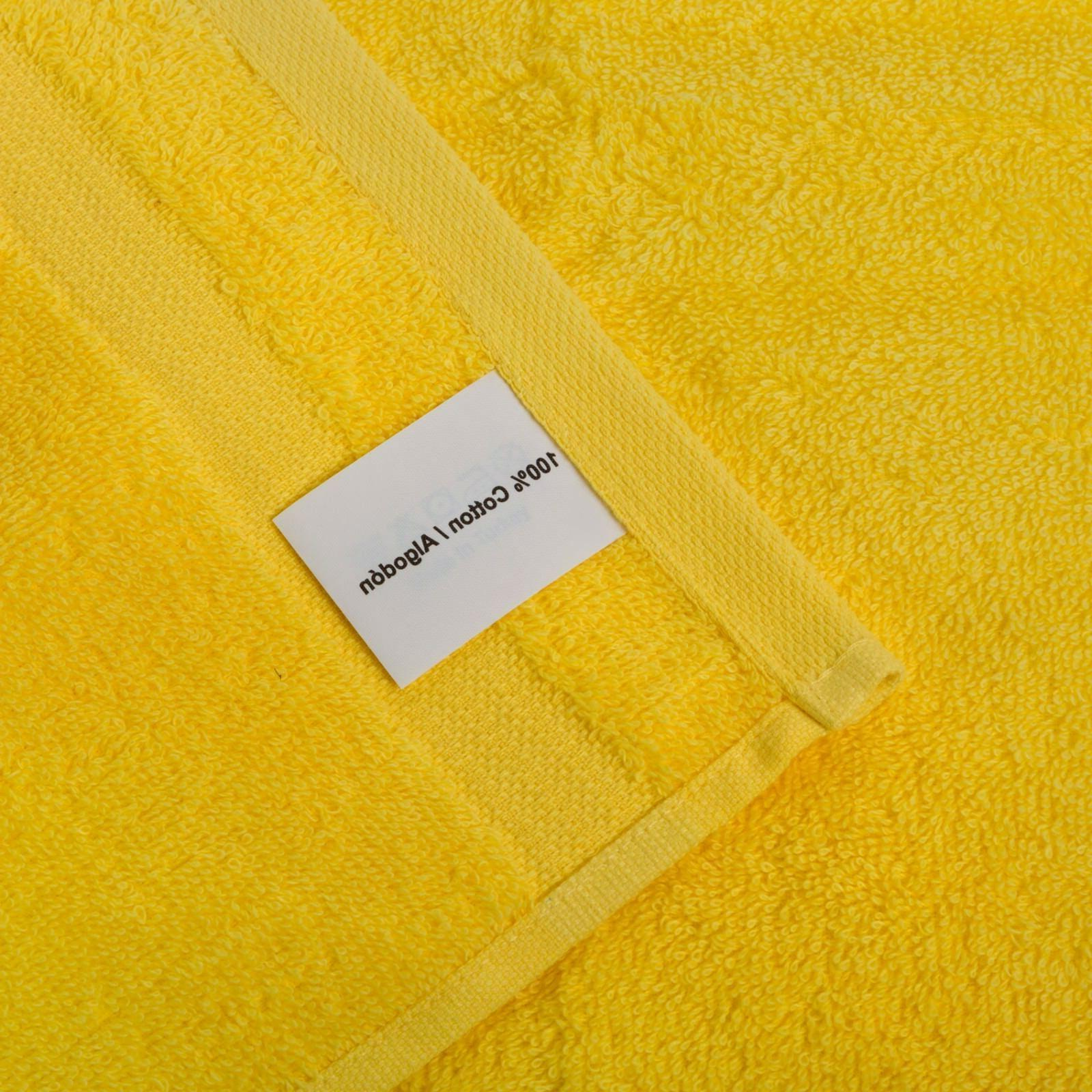 NEW YELLOW Color ULTRA SUPER SOFT TURKISH TOWELS