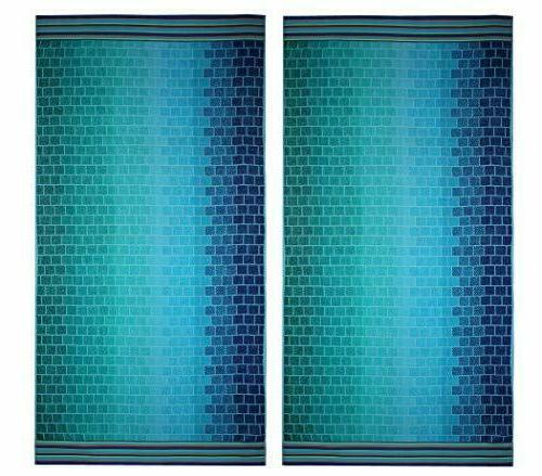 Cotton Craft - 2 Pack - Oversized Jacquard Double Woven Velo