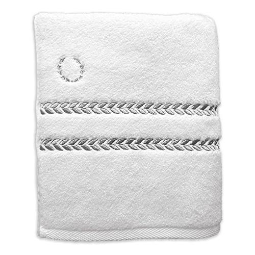 pearl essence hand towel smoke