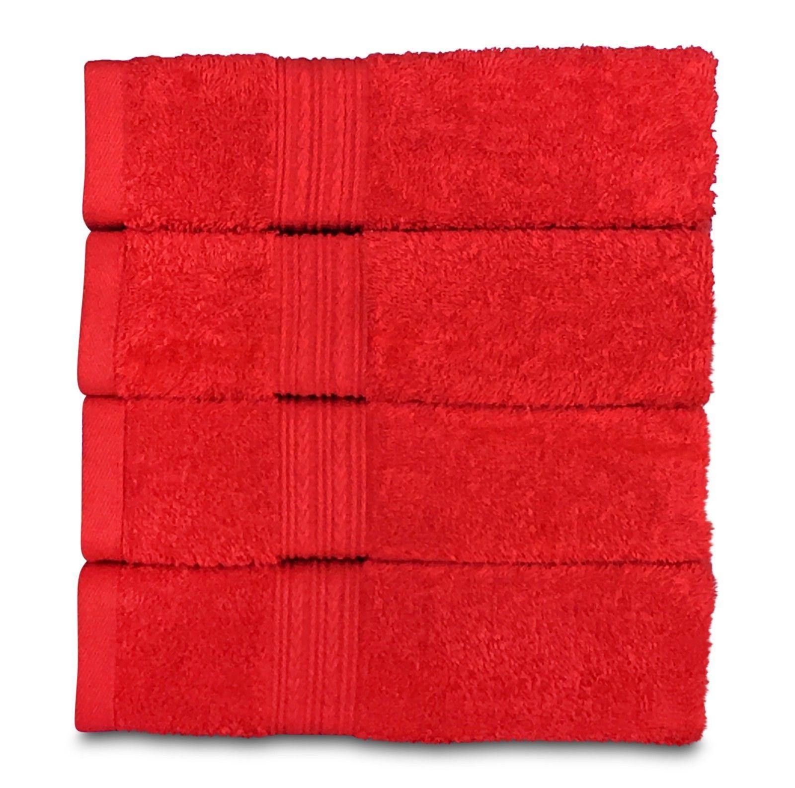 Goza %100 Hand Towels, Bath, Gym, Towels 4 Pack