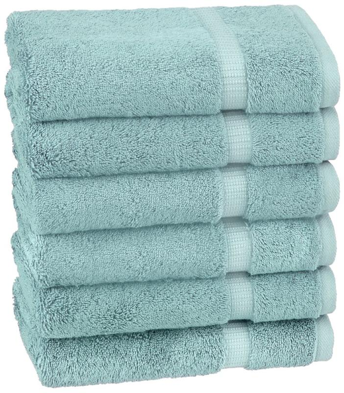 pinzon organic cotton hand towels 6 pack