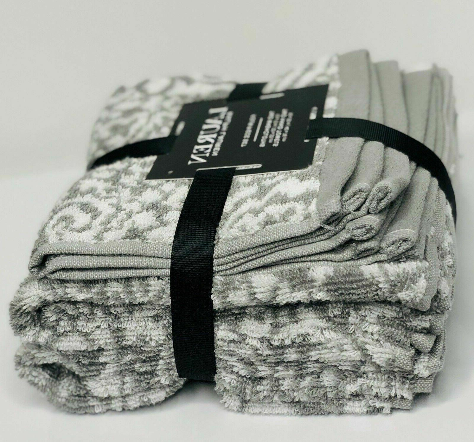 RALPH LAUREN 4 Towel Set 2 Hand Towels 2 cotton