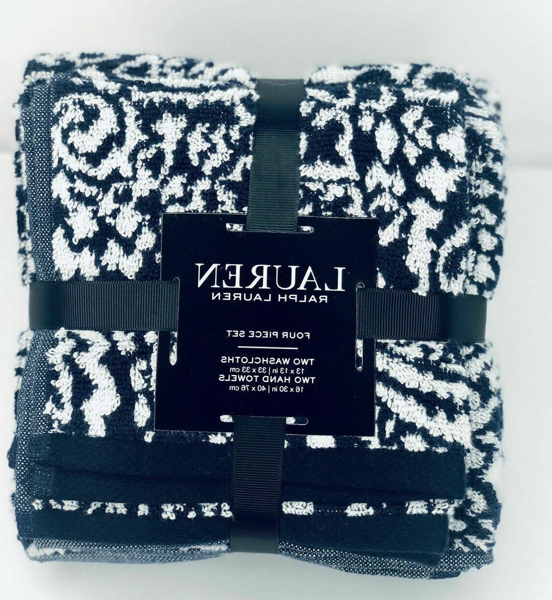 RALPH LAUREN Piece Towel Towels Washcloths cotton