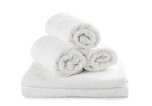 salon hand towels white ring
