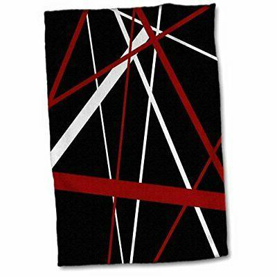 seamless red white stripes a