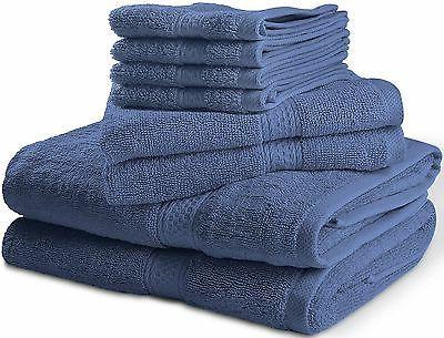 Premium 8 Piece Towel Set 2 Towels,