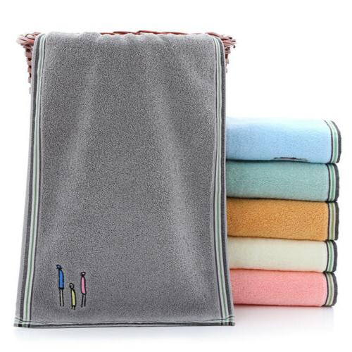 2/6/12pc Cotton Hand Towels Soft Sheet Towels Set