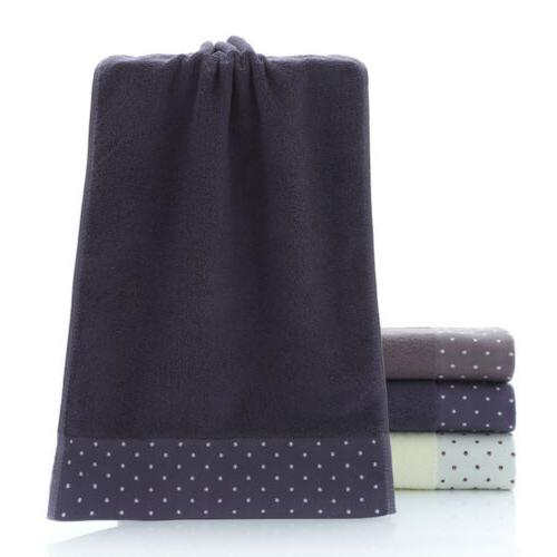 2/6/12pc 100% Towels Soft Face Sheet Gym Bath Towels Set