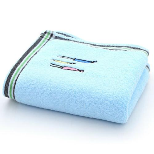 Set of Hand Washcloth Sheet Beach