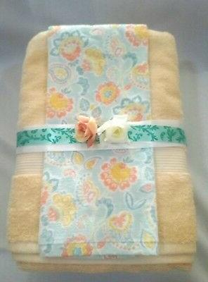 Set Personalized Hand Towels,