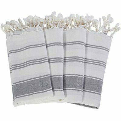 Cotton Hand Face Head Gym Towel - Grey2