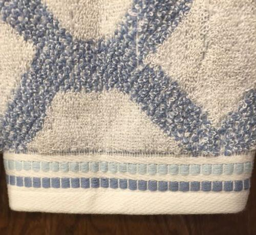 Threshold Blue White Geometrical Shape Hand 2 New