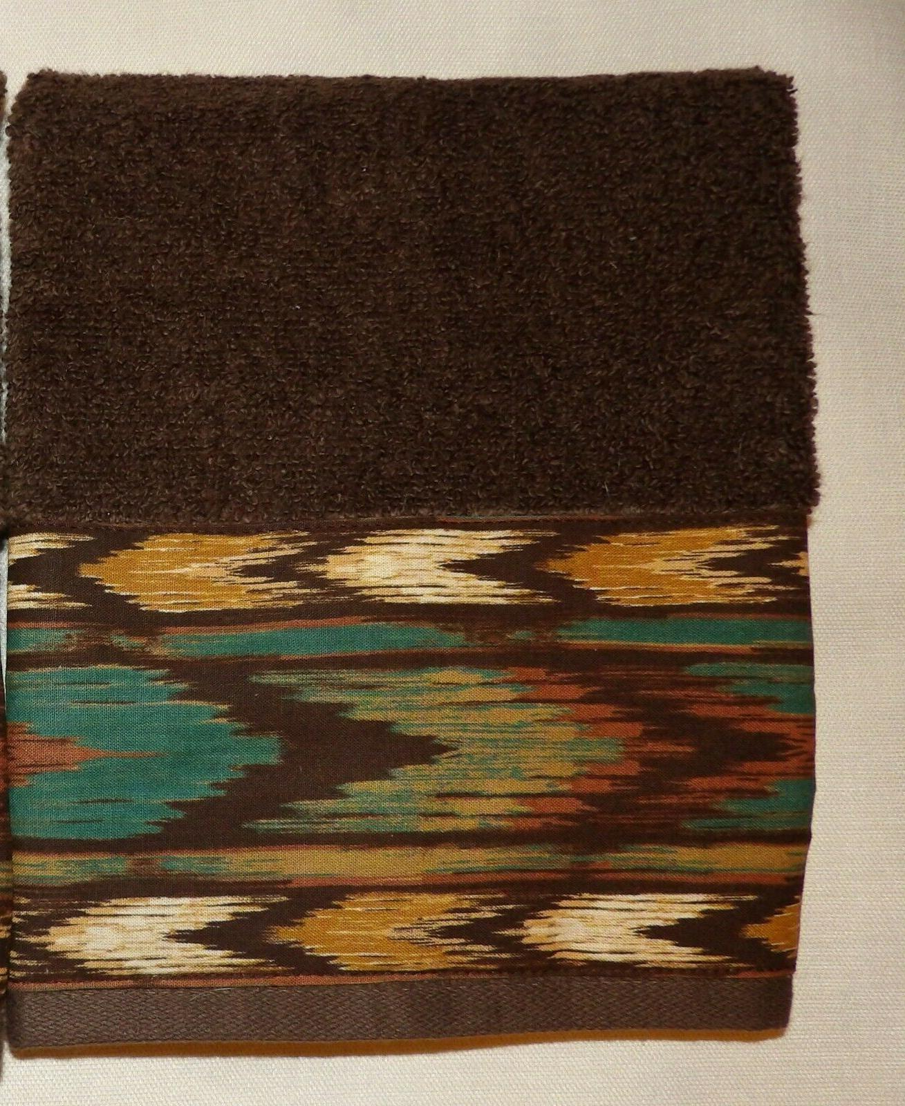 SOUTHWEST/WESTERN/CABIN HAND OR GUEST TOWELS, OF