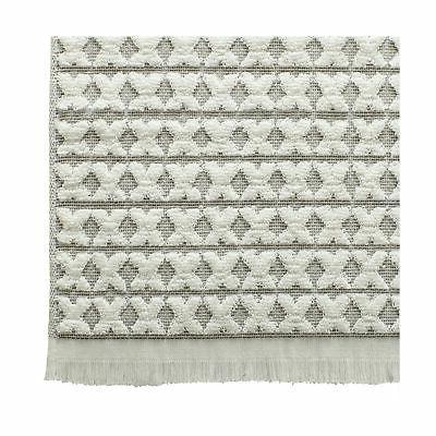 Stone & Sculpted Criss Towel Set, Set 3,