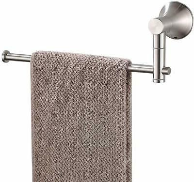 sus304 stainless steel single hand towel bar