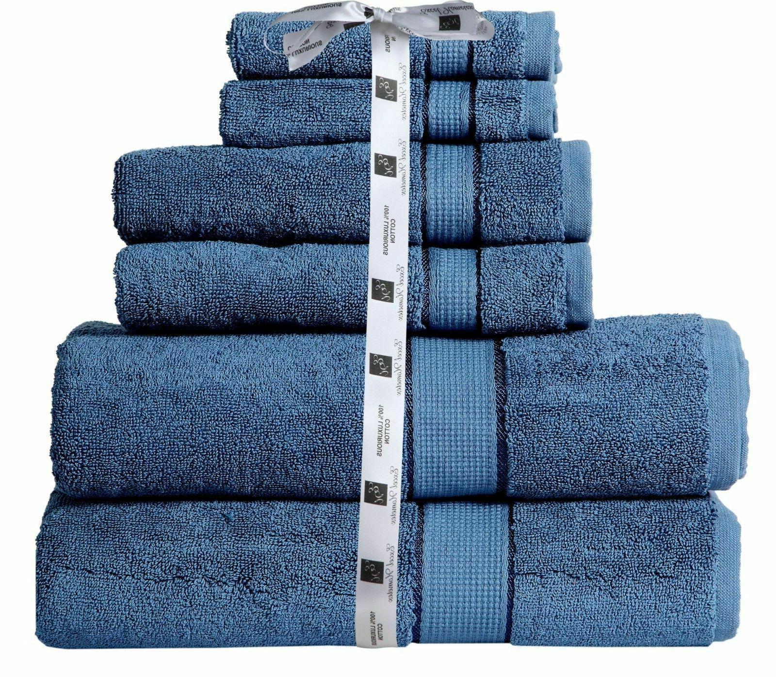 Towel Set Set Cotton 2 2 Hand Towel