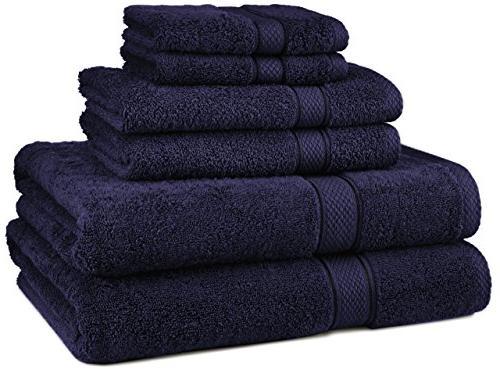 towel set bath clearance navy