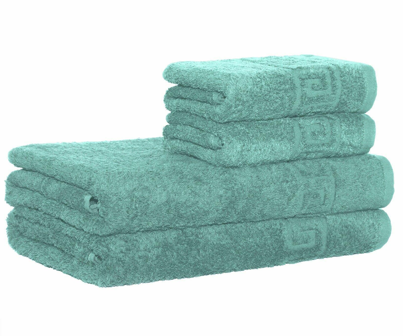 towels set 2 bath and 2 hand