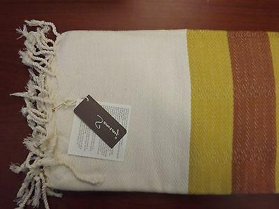 Traditional Turkish Cotton Hand Loomed XL Bath Beach Towel P