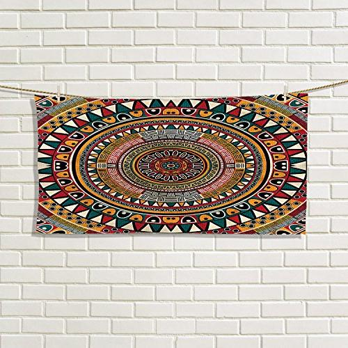tribal gym hand towels african