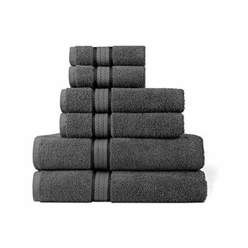 ultra soft luxury 6 piece ringspun cotton