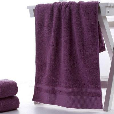 100% Solid Color Towels Thick Towel