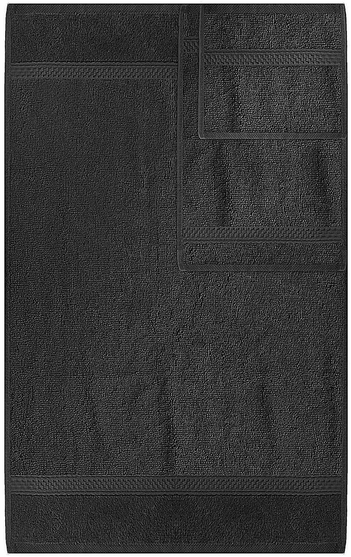 Utopia 8 Towel Set, Dark 2 Hand