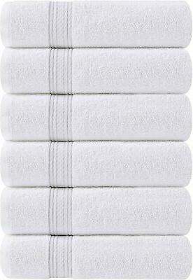 6 Hand Towels 700 GSM Cotton Inches Utopia