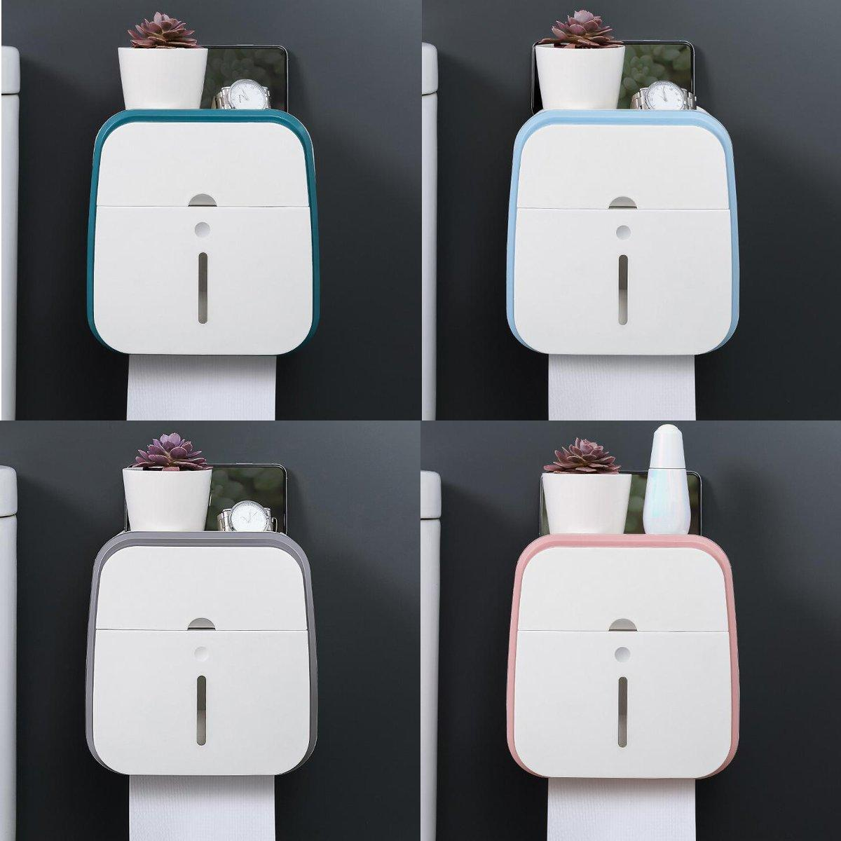 4 Colors Wall Mounted Toilet Paper Holder <font><b>Towel</b>